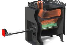 Газодровяная печь для бани – преимущества выбора и метод монтажа